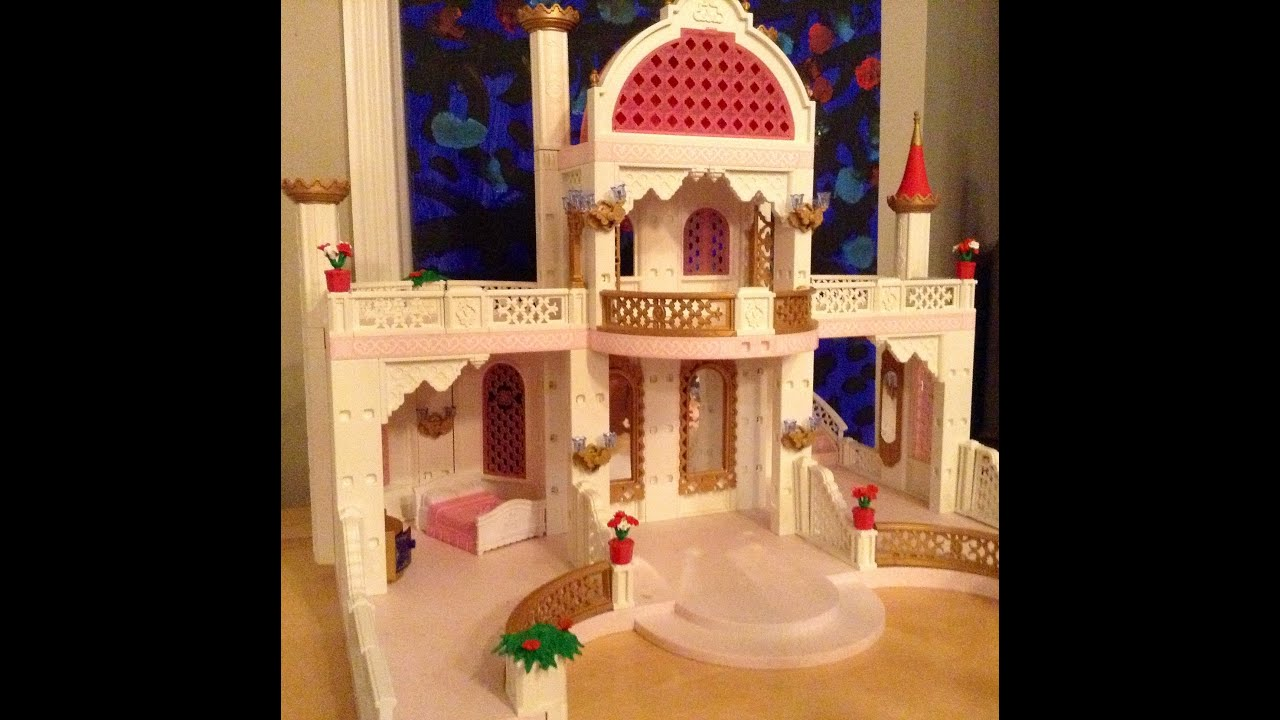 Playmobil princess castle 4250 garden fairy fairies 4751 for Chateau playmobil 4250