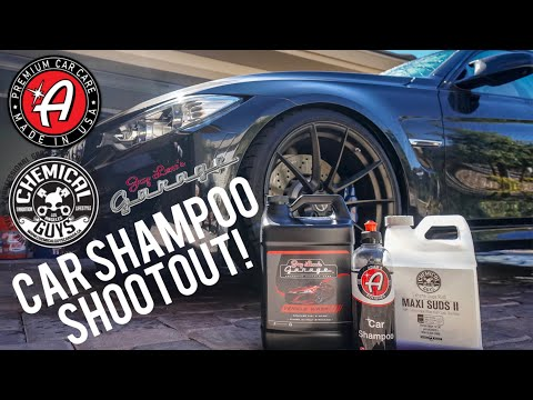 Adams Polishes vs Chemical Guys vs Jay Leno's Garage - Foam Comparison
