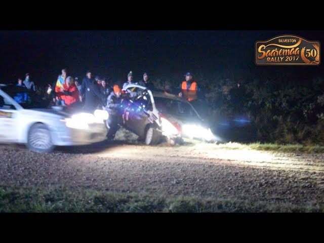 Saaremaa Rally 2017 (Crashes, mistakes and OFFs) [Kaugatoma & Kuressaare]