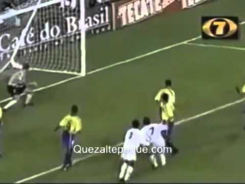 Guatemala 1-1 Brasil 1998 con Kike Rodríguez de Emisoras Unidas