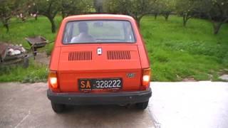Driving Fiat 126