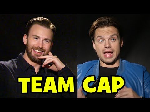 CAPTAIN AMERICA: CIVIL WAR Interviews - Chris Evans, Sebastian Stan, Elizabeth Olsen, Anthony Mackie