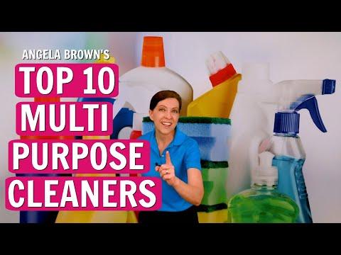Angela Brown's Top 10 Multi Purpose Cleaners