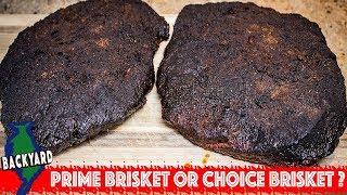 USDA Prime Smoked Brisket vs USDA Choice Smoked Brisket