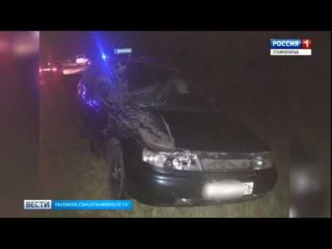 Ребенок погиб в ДТП на Ставрополье