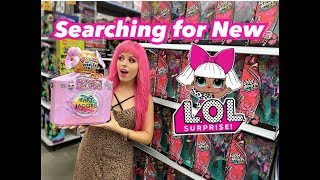 Hunting for NEW LOL Surprise Dolls!