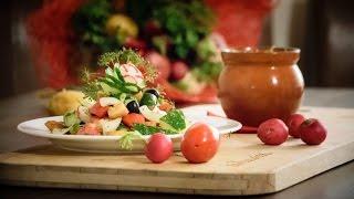 За калиткой: салат «Фатуш» и муссака по-египетски