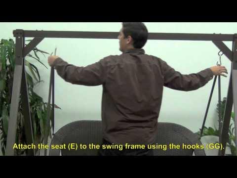 Home Depot Wicker Swing