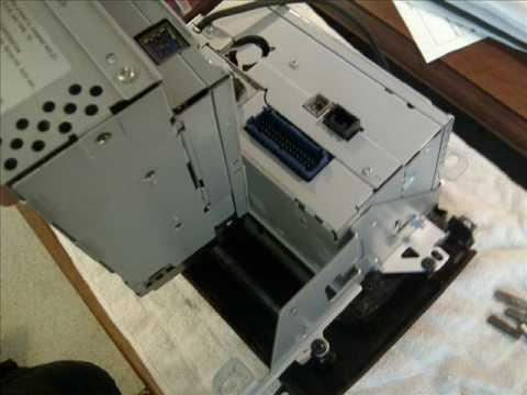GM 6 DISC CD CHANGER REPAIR FOR JAMMED / STUCK DISCS Jbl Disc Cd Changer Wiring Diagram on