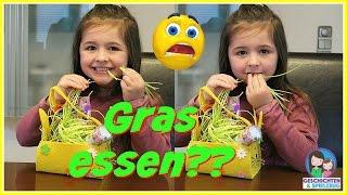 Ava isst Gras! Prank an Mama 😨 Unser erster Sketch 💕 Geschichten und Spielzeug Familienkanal