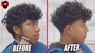 High Taper Fade | Long on Top | Scissor Work| Richie The Barber | Corte de pelo