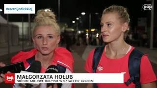 Rio 2016 - Hołub i Wyciszkiewicz o występie sztafety