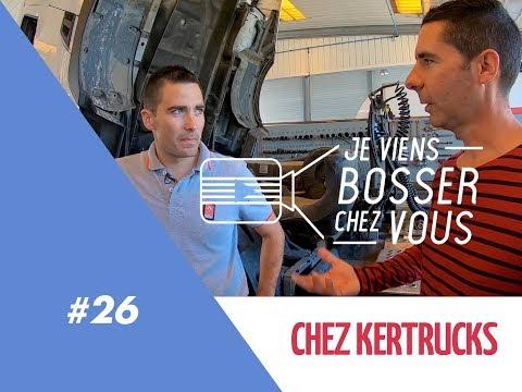 Je Bosse Comme Mécanicien Poids Lourds Chez KERTRUCKS Qui Recrute - Jeviensbosserchezvous #26