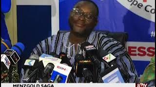 Menzgold Saga: New Patriotic Party addresses media on JoyNews (16-1-19)