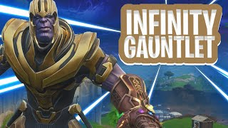 SPELEN ALS 'THANOS' VAN MARVEL ! - Fortnite: Battle Royale Infinity Gauntlet MODE