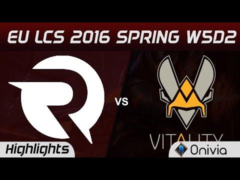 OG vs VIT highlights EU LCS Spring 2016 W5D2 Origen vs Vitality