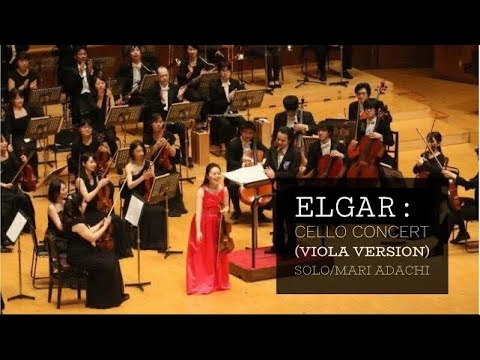 Edward Elgar :  Cello Concerto in E minor op 85 (viola version)