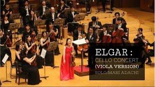 Edward Elgar :  Cello Concerto in E minor op 85 (viola version)