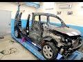 Renault Kangoo. Регулировка дверей. Подготовка авто к стыковке.