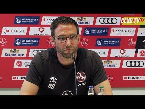 Die PK mit Boris Schommers | 1. FC Nürnberg - FC Bayern München