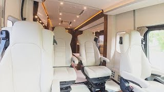 Made in Germany Luxury Motor Homes Concorde Centurion 1200 GST List price from € 744.060, -
