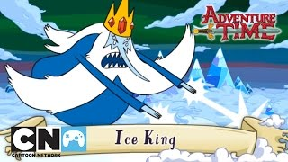 Ice King - Adventure Time Collection Playthrough | Game | Cartoon Network
