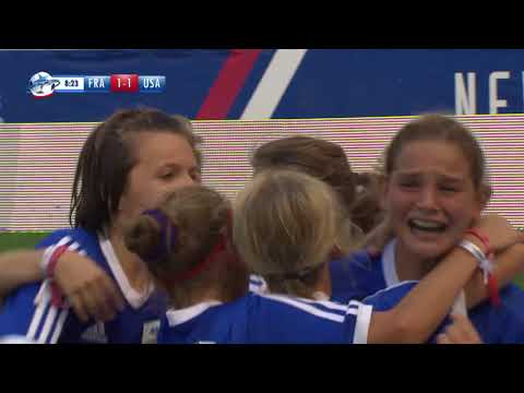 FRANCE GIRLS VS USA GIRLS - RANKING MATCH 3/4 - FULL MATCH - DANONE NATIONS CUP 2017