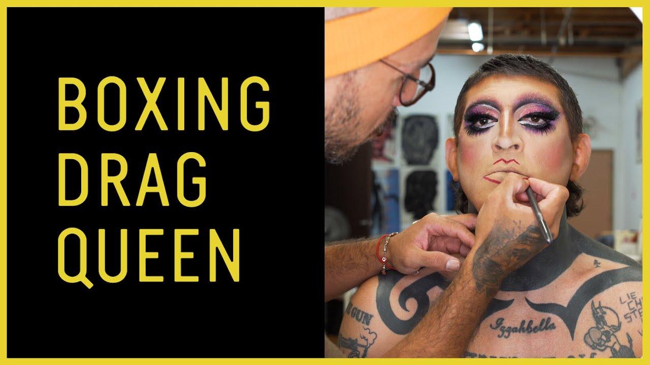 Boxing Drag Queen Diego Garijo