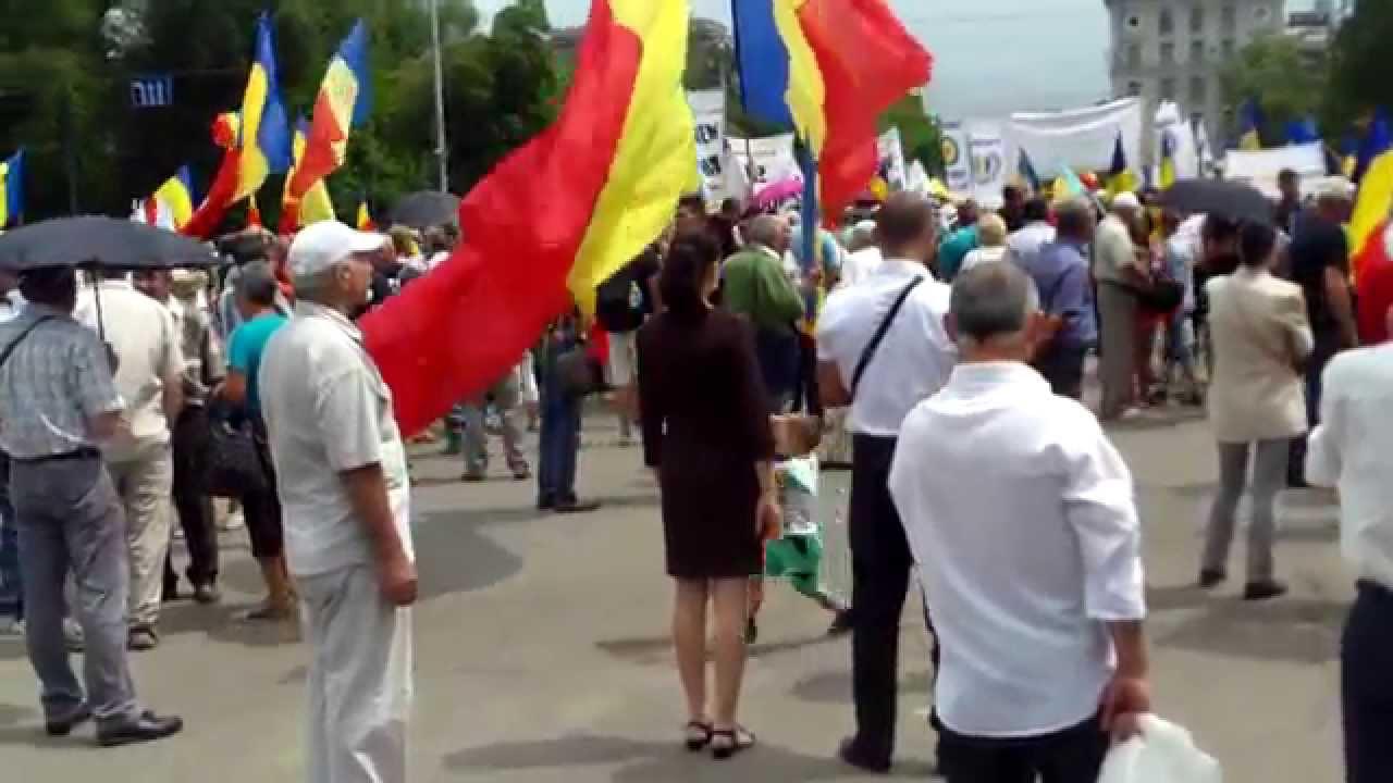 Fiodor Ghelici era la mitingul unionist din #PMAN