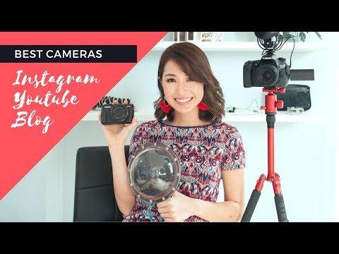 Best Cameras for Instagram and Youtube | Kryz Uy