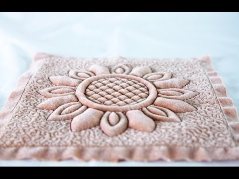 Classic Trapunto with an Embroidery Machine by Anita Goodesign