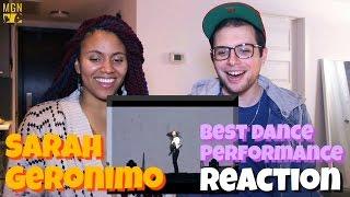 Sarah Geronimo's Best Dance Performance Reaction
