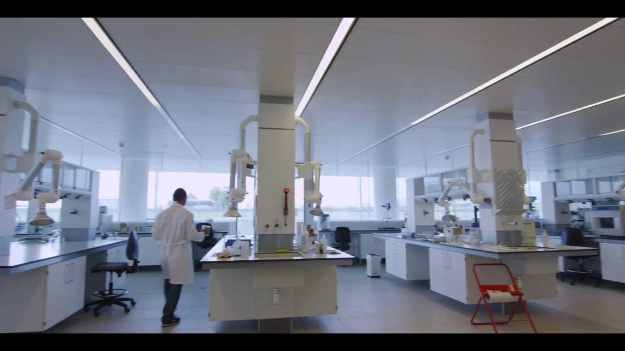 L illuminazione dell i lab italcementi iguzzini youtube