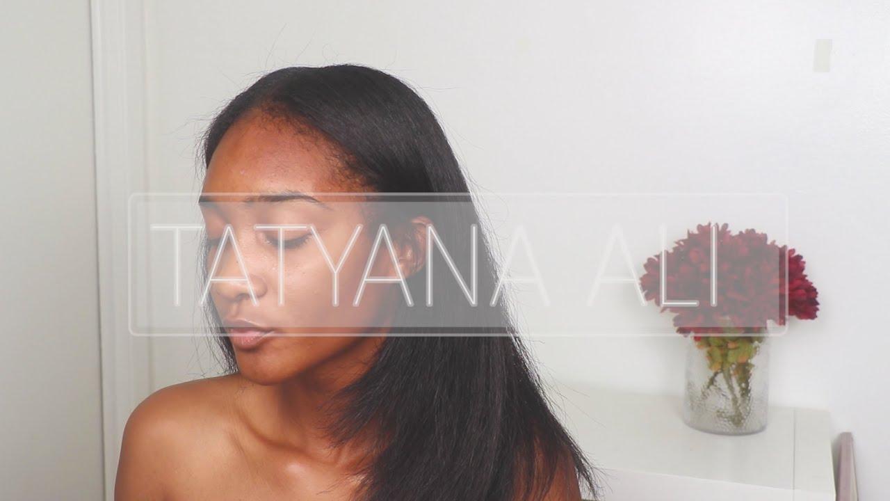 Tatyana ali natural hair