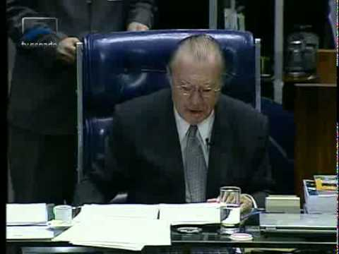 Jornalismo - José Sarney se despede da presidência