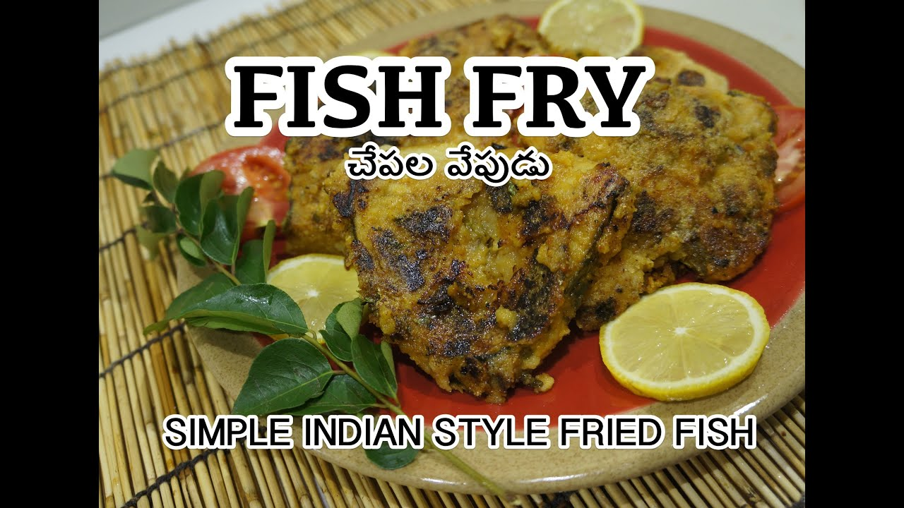 Indian fish fry recipe how to fry fish spicy youtube for How do you fry fish