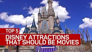 Top 5 Disney attractions that should be movies (CNET Top 5)