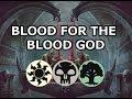 BLOOD FOR THE BLOOD GOD MTG Arena Standard Original Deck mp3