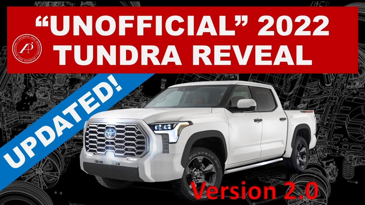 """*UPDATED"""" 2022 TOYOTA TUNDRA REVEAL VIDEO that Toyota should have created! """"Unofficial"""" Promo Video"""