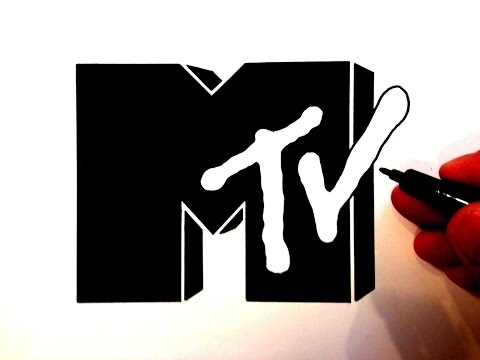 How to Draw the MTV Logo