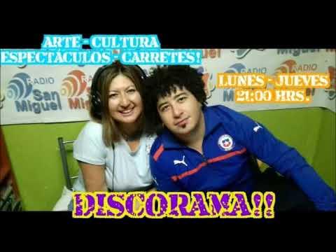 """Radio San Miguel Online! """"Programa DISCORAMA"""" Con Ale & FA! Capitulo 8."""
