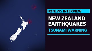 New Zealand tsunami warning as strong earthquake strikes off coast of North Island | ABC News
