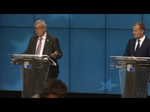 EU's Juncker says hopes Britain will 're-enter the boat'
