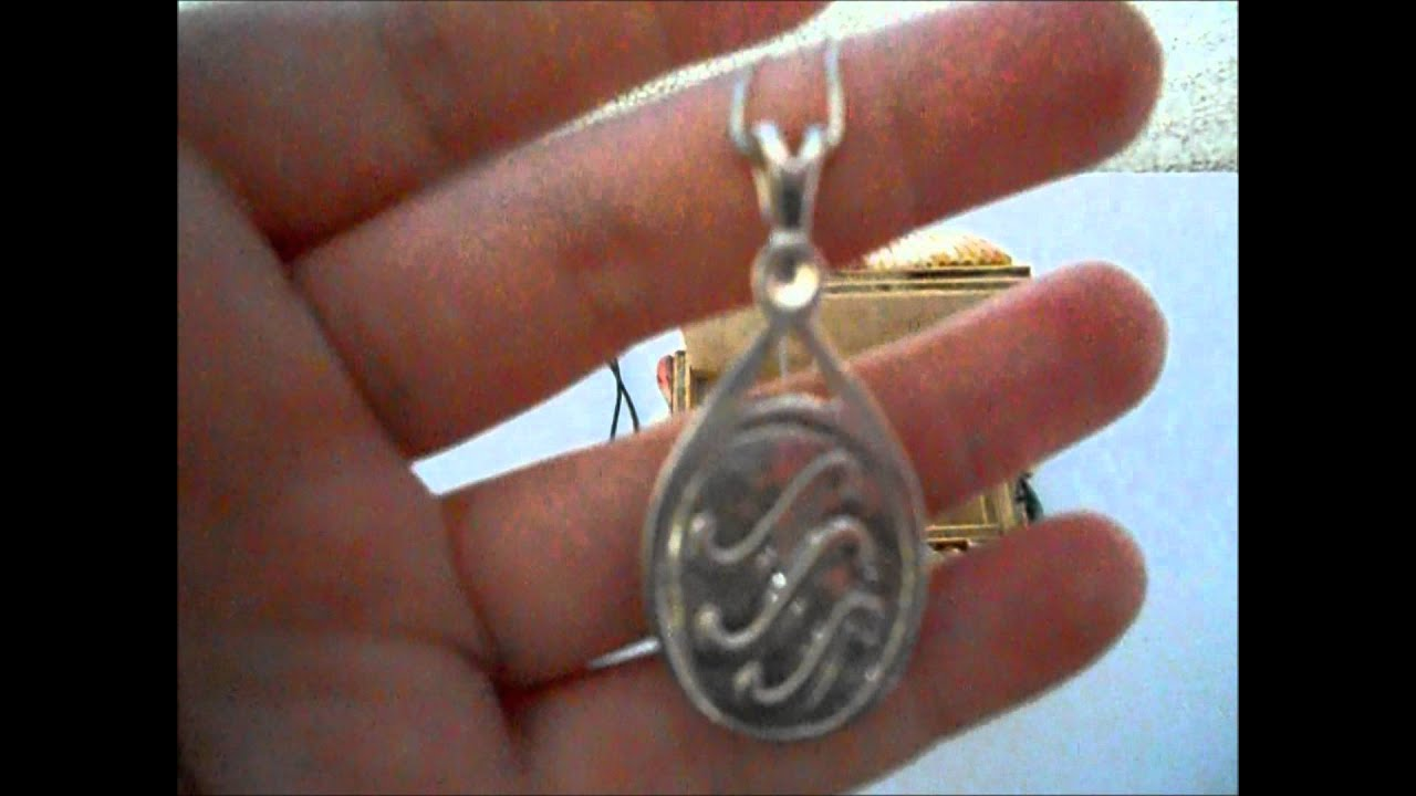 H2o Locket And Crystal Necklace Youtube