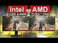 Intel vs AMD -- [ 9900K vs 2700X ]