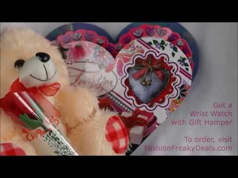 Valentine's Day Gift Hamper For Girlfriend or Wife - Fashion Freaky Deals