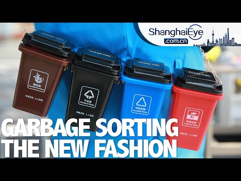 How Shanghai deals with its 30,000 tons of daily waste