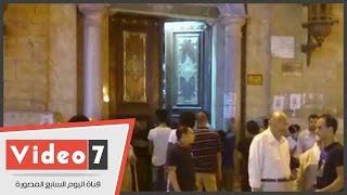 """بالفيديو.. """"الأوقاف"""" تغلق مسجد الحسين بعد صلاة العشاء تفاديا لإحياء الشيعة طقوس عاشوراء"""
