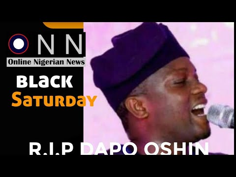 Download Moments With Late Dapo Oshin (Died on 17/07/2021)... As Mega 99 Sings for Babagboin in Lagos.
