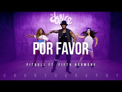 Por Favor - Pitbull ft. Fifth Harmony | FitDance Life (Coreografía) Dance Video